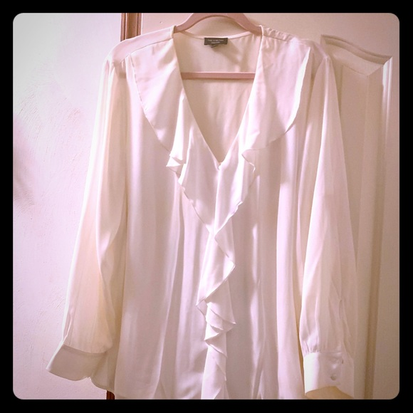 The Limited Tops - V-Neck Blouse